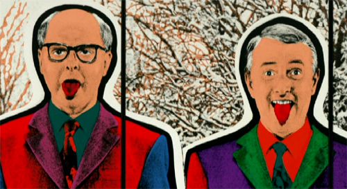 Cuadro de Gilbert and George