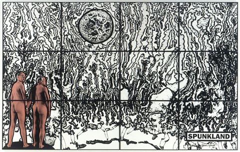Cuadro Spunkland de Gilbert and George