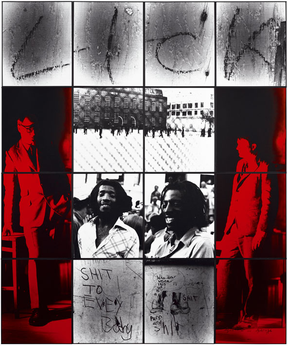 Cuadro L I C K de Gilbert and George