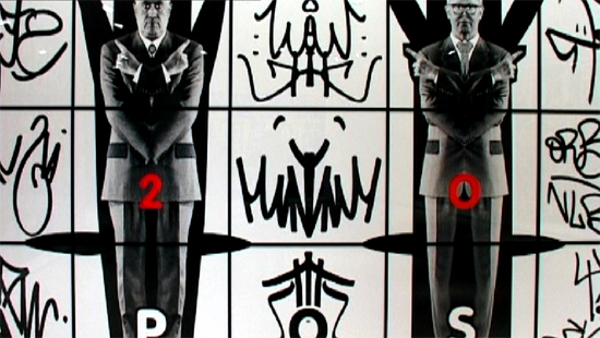 Cuadro con Tag de Gilbert and George