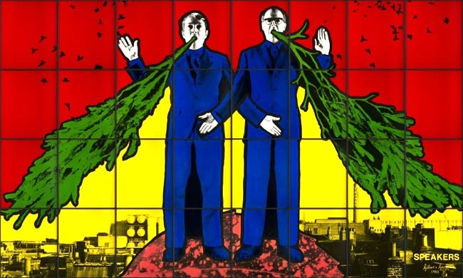 Speakers de Gilbert and George