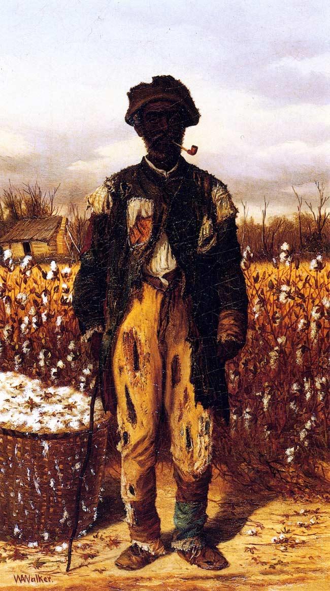 Pintura El tio Cy, de Aiken Walker