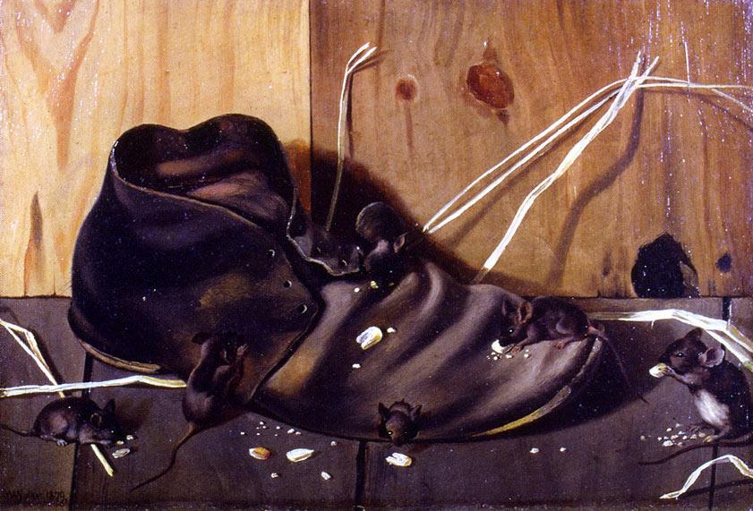 Pintura El zapato viejo