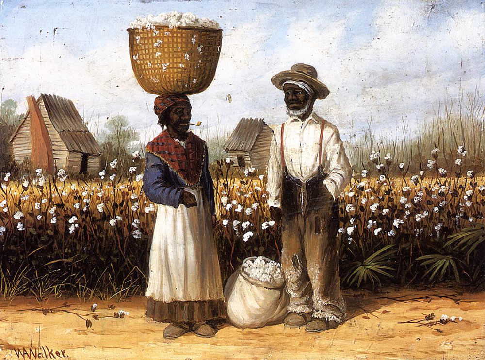 Pintura de Aiken Walker, Cotton pickers