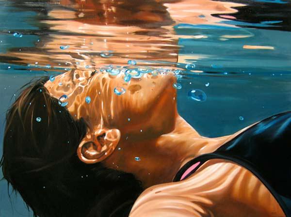 A la deriva, pintura de Eric Zener
