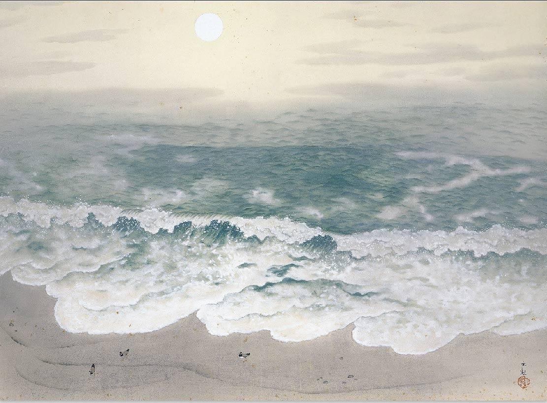 Yokoyama Taikan, Las cuatro estaciones del mar