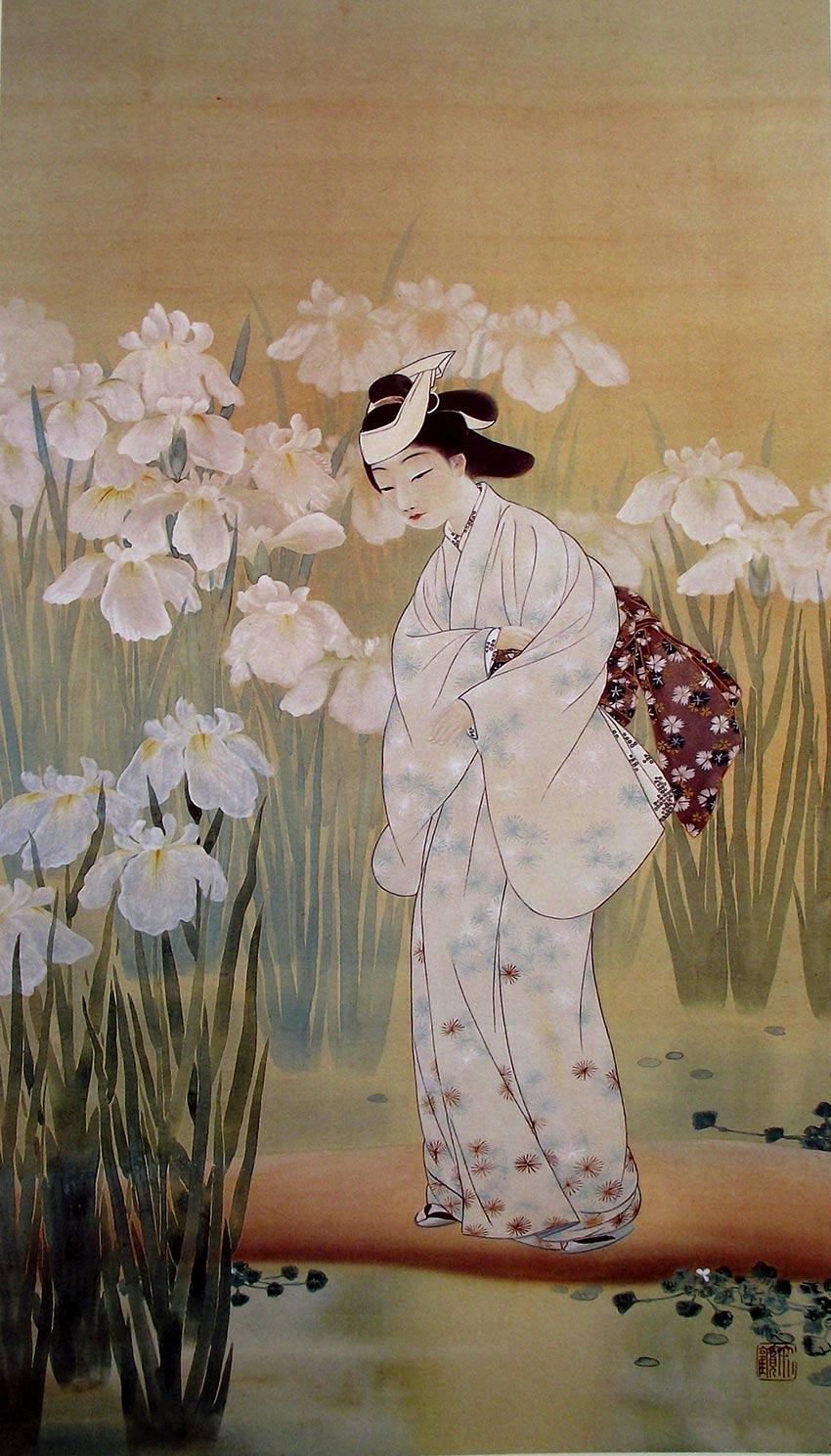Yokoyama Taikan, Bosque