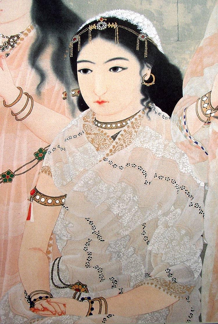Yokoyama Taikan, Mujer
